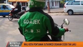 Video Wali Kota Pontianak Sutarmidji Doakan Gojek Tak Laku - Kompas TV Pontianak MP3, 3GP, MP4, WEBM, AVI, FLV Mei 2019