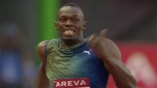 Usain Bolt Wins 200m In Paris Diamond League - Universal Sports