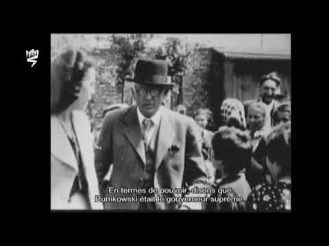 Yosseph Neuhaus, rescapé de la Shoah, évoque l'organisation du ghetto de Lodz par Rumkowski