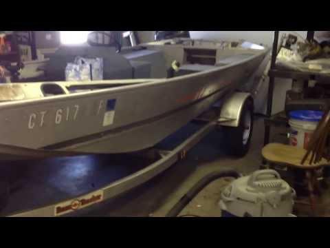 how to fix leak in aluminum boat