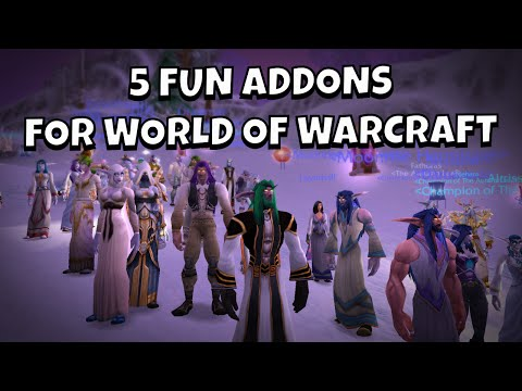 5 Fun Addons For World Of Warcraft