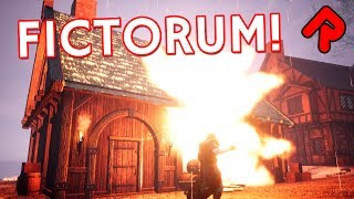 """We try to play action-RPG Fictorum properly in this Let's play Fictorum gameplay preview, but the physics means blowing up houses is too much fun!► Subscribe: http://bit.ly/RandomiseUser► Patreon exclusives: https://www.patreon.com/randomiseuserFictorum gameplay is an action-RPG where you are a spell-casting dude crossing an FTL-style map full of choices, loot opportunities and battle encounters. We playthrough one full map in this let's play Fictorum gameplay preview, with several third-person battles set on procedural maps full of houses, villagers and attacking monsters that we have to fight.The spellcasting part of Fictorum gameplay is designed to be unique - every time you cast a fireball (or whatever other spells you have managed to learn), you can choose to customise the spell based on your three chosen runes, allowing the fireball to be faster, bigger, split, or a combination, using up more mana as appropriate.=====Thanks for watching this let's play Fictorum gameplay preview! Watch more of the best indie games:Let's play RimWorld (alpha 17): https://www.youtube.com/watch?v=7jax1CqdSco&index=1&list=PLLvo6-XrH1fkoMmaQBXyN5KHCFq85RNmALet's play Oxygen Not Included (S2): https://www.youtube.com/watch?v=BWIkpht03U0&list=PLLvo6-XrH1fnBAHW2x5cHw2PKSZrpkzea&index=1Rain World is a survival platformer with brutal predators: https://www.youtube.com/watch?v=fQQZc9Afolk&index=1&list=PLLvo6-XrH1fmiwoAZLGIv0_jLTvc1jLRM=====Official Fictorum gameplay info:""""A reign of terror never feels so satisfying as when you leave a literal pile of rubble in your wake. Giving wizards a much-needed makeover, Fictorum is an action role-playing game that features fully-destructible structures, a randomized node-based world map, and a satisfying magic system with on-the-fly spell shaping and customization.""""Game version: 1.0Fictorum release date: 9 August 2017Developed by: Scraping Bottom Games Formats available: PC WindowsOfficial game site: www.fictorum.comBuy Fictorum download on Steam: h"""