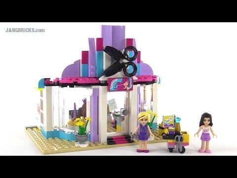 "Конструктор LEGO Friends41093 ""Парикмахерская в Хартлейк-сити"""