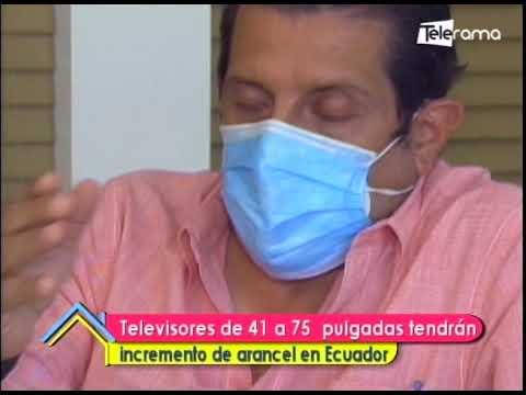 Televisores de 41 a 75 pulgadas tendrán incremento de arancel en Ecuador