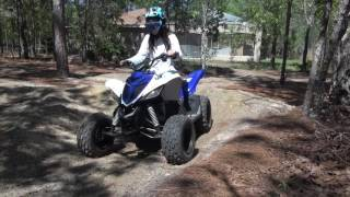 4. 2016 Yamaha Raptor 90 Review