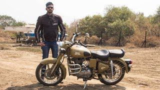 7. Royal Enfield Classic 500 Desert Storm Review | Faisal Khan