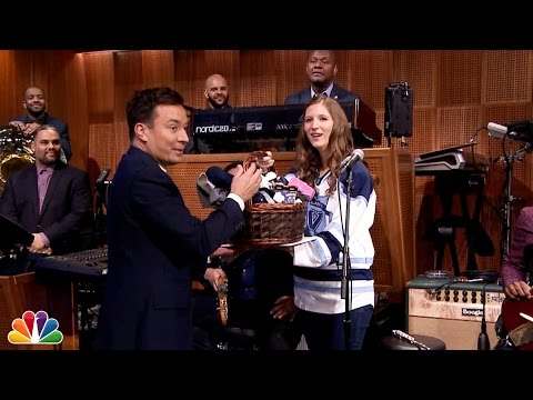 """Villanova Piccolo Girl"" Sits In With The Roots"