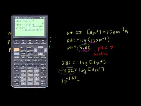 Definition Of Ph Video Khan Academy