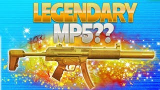 LEGENDARY MP5? (Fortnite Battle Royale) | rhinoCRUNCH