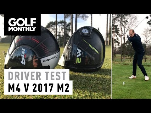 TaylorMade M4 vs 2017 M2 | Driver Test | Golf Monthly