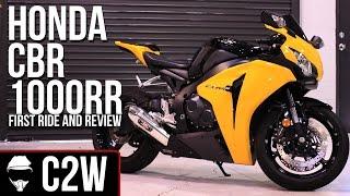 1. 2008 Honda CBR 1000RR | First Ride