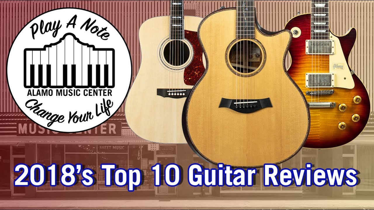 2019's Top 10 Guitar Reviews from 2018 – Electric and Acoustic