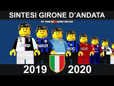 Serie A 2019/20 in LEGO • Sintesi e Goal Andata di Campionato 2020 • Film Lego Football