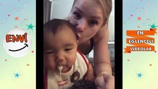 şubat ayı bebeklerinin en komik kazaları 𑶠komik bebekler 2018