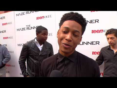 "The Maze Runner: Jacob Latimore ""Jeff"" Premiere Movie Interview"