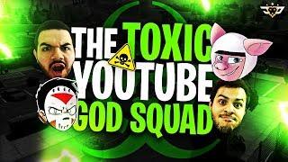 THE TOXIC YOUTUBE GOD SQUAD! (Fortnite: Battle Royale)