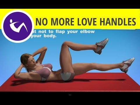 Abdominal Exercises For Women – Air bike