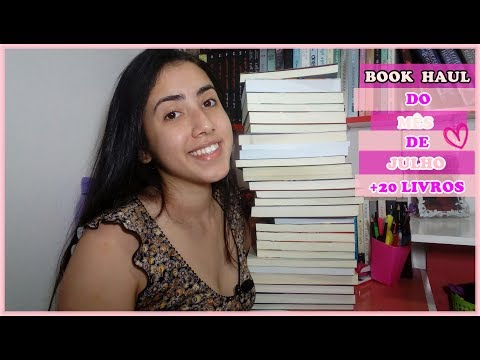 BOOK HAUL | Mês de Julho | Leticia Ferfer | Livro Livro Meu