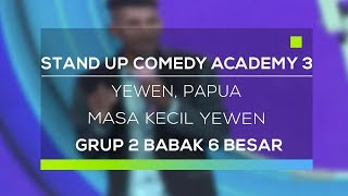 Video Stand Up Comedy Academy 3 : Yewen, Papua - Masa Kecil Yewen MP3, 3GP, MP4, WEBM, AVI, FLV Oktober 2017