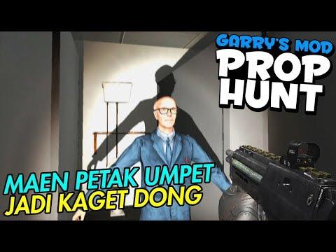 NGUMPET MALAH DIKAGETIN WKWK - Gmod Prop Hunt Indonesia
