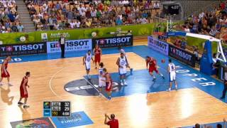 Assists of the Game D. Sokolov GRE-RUS EuroBasket 2013