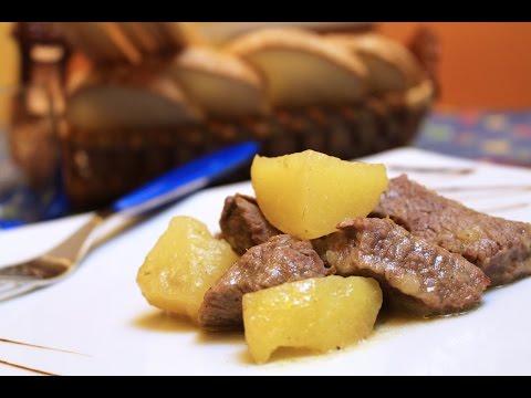 spezzatino di vitello con patate