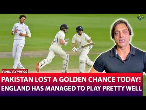 Pakistan vs England   1st Test Match   Pakistan Lost due to Lack of Aggression   Shoaib Akhtar