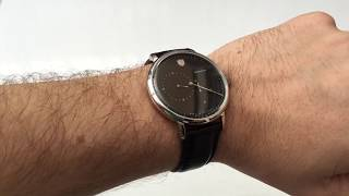Dufa (Deutsche Uhrenfabrik) have created another great looking, Bauhaus inspired timepiece. The RRP is €499 / £435 which is probably too much for a Miyota powered watch, but you should be able to get it on discount easily. The main gripe I have is that it isn't a true regulator; the hour subdial is merely a 24 hour indicator so behaves differently to a normal hour hand. Once you get used to it though, it is a lovely watch that's very well made. Read the full review here: https://www.watchitallabout.com/deutsche-uhrenfabrik-dufa-aalto-regulator-watch-review/