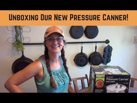 Presto 23-Quart Pressure Canner Unboxing!