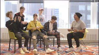 Why Don't We: Daniel and Jack go speechless when Corbyn sings a love song to...