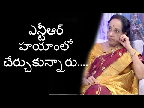 Senior Actress Jamuna about Political Entry