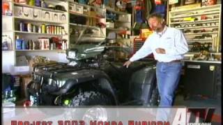 7. ATV Television Project Honda Rubicon part 1 of 2 - ATVTV Tech Video