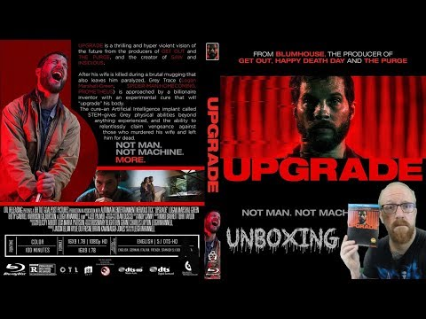 UPGRADE - Blu-Ray Unboxing !