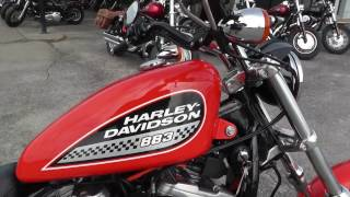 8. 124225 - 2002 Harley Davidson Sportster 883 XL883R - Used motorcycles for sale