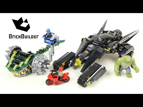 Vidéo LEGO DC Comics Super Heroes 76055 : Batman : choc dans les égouts avec Killer Croc