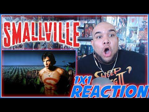 """Smallville Reaction Season 1 Episode 1 """"Pilot"""" 1x1 REACTION!!!"""