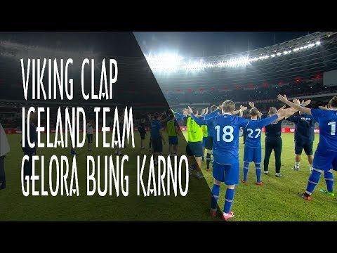 Download Video [HD] VIKING CLAP INDONESIAN SUPORTER FOR ICELAND TEAM AT STADION UTAMA GELORA BUNG KARNO (GBK) 2018