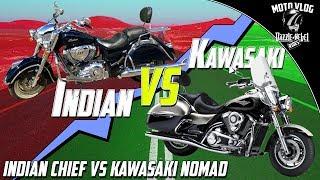 7. Indian Chief Vintage vs Kawasaki Nomad VN1700