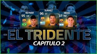 FIFA 15 | EL TRIDENTE | NEYMAR - SUAREZ - MESSI | #2, neymar, neymar Barcelona,  Barcelona, chung ket cup c1, Barcelona juventus