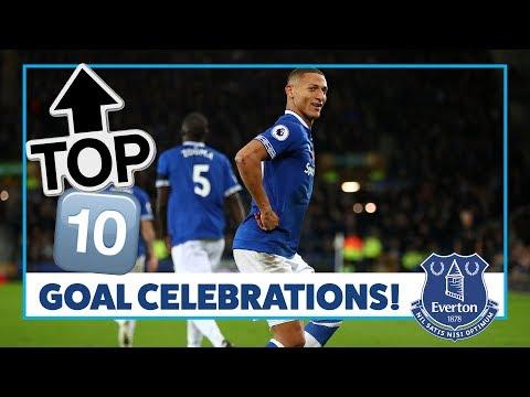 Video: TOP 10: GOAL CELEBRATIONS! | RICHARLISON, FERGUSON, CAHILL