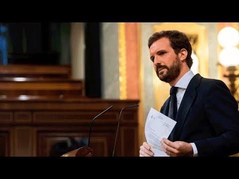 Intervención de Pablo Casado en el debate de la 6ª prórroga del estado de alarma