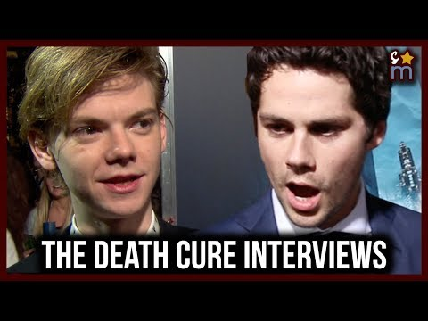 Dylan O'Brien Wants to Spoof the Maze Runner Movies? Maze Runner: The Death Cure Cast Interviews
