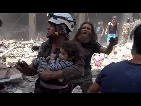 Συρία: Μακελειό στο Χαλέπι