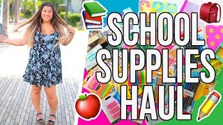 School Supplies Haul!! BACK TO SCHOOL 2016 by MissRemiAshten