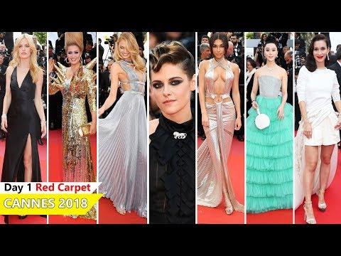 Cannes Film Festival 2018 [DAY 1] Red Carpet | Full Video | Celebrity Dresses (видео)