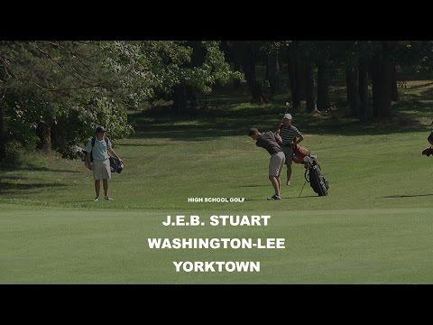 JEB Stuart, Washington-Lee, Yorktown: High School Golf 2014