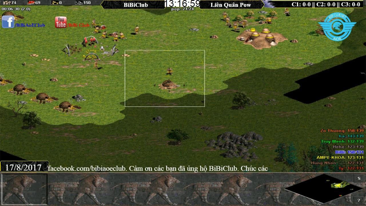 Bibiclub vs Liên Quân ngày 17/8/2017