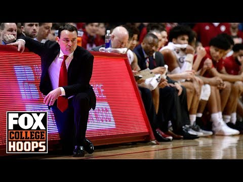 Indiana comes from behind to upset No. 6 Michigan State | FOX COLLEGE HOOPS