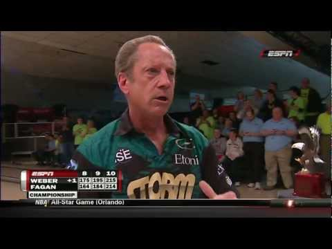 Pete Weber PBA Celebration