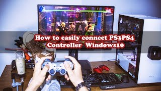 Please watch at least in 1080p , the video is recorded in 2k or 1440p , I will try to get a full hd monitor for 1080p tutorials (I dont want to change the resolution on my current monitor because it was ugly)Hi everyone, In this quick qnd simple tutorial, I am going to show you how to easily connect your PS3 and PS4 controller , you can connect multiple controllers by the way with ease.This is one of the best method that worked for me .If you enjoy this video please sub, like and share . Wish you a great day.-----------------------------------------------------------------------------------------------------------How to disable driver signature and downloading link for scptoolkit : https://goo.gl/rBgCeg-----------------------------------------------------------------------------------------------------------Paypal Donation(1 dollar or less can be nothing for you but it will certainly help to get new equipment and continue working, so please if you feel that I deserve it don't hesitate and donate and let us grow together )-----------------------------------------------------------------------------------------------------------Facebook : https://www.facebook.com/pr0t3ch/Twitter:https://twitter.com/g33kyworldWebsite :http://www.t3chpro.com/-----------------------------------------------------------------------------------------------------------